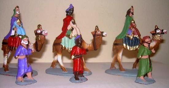 Reyes Magos, que Majos