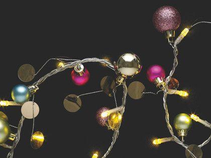 ORBIT Plastic Multi-coloured ball and disc LED fairy light - HabitatUK