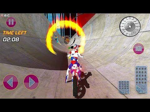 Crazy Bike Stunt Games 3d Bike Games 2020 Light Mode Motor Games