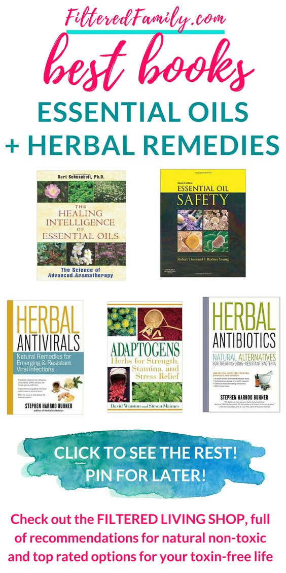 Learn herbal medicine with these great books. Heal your family naturally and safely with the easy recommendations in these books, from beginner to pro! See the rest at the Filtered Living Shop | FilteredFamily.com
