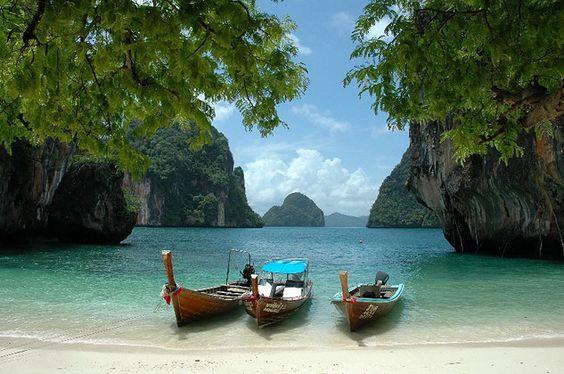 Thailand yoga holidays. Fly into Krabi or Phuket