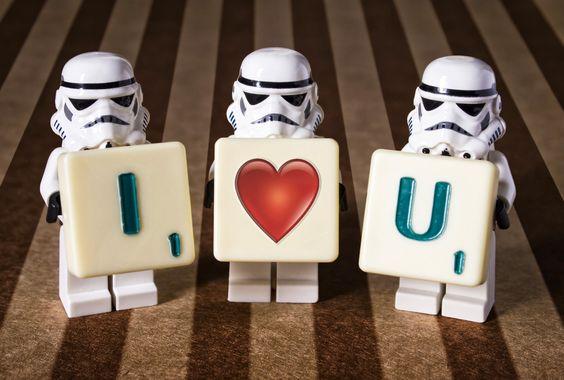 Si avec ça les filles n'aiment pas Star Wars, je suis dans l'incompréhension la plus totale.