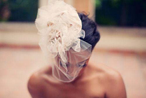 #wedding #bride #flower #hair #accessory