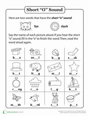 Printables Short E Worksheets For First Grade handwriting worksheets vowel sounds and phonics on first grade short o words