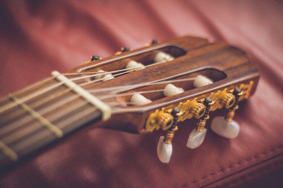 Fondo de Pantalla de Guitarra, Mástil, Cuerdas, Afinación, Mecanismo