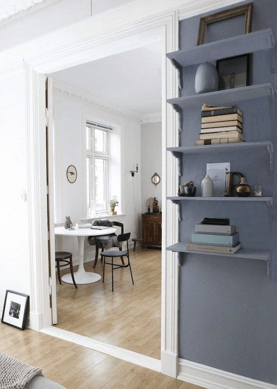 A Small Space Painting Trick that Makes Rooms Look Larger | Apartment Therapy