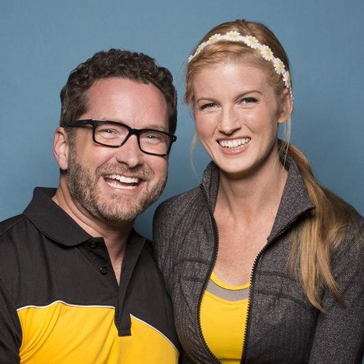 Season 28 Burnie Burns and Ashley Jenkins: Dating: