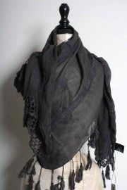 cotton tassels scarf by sandwich