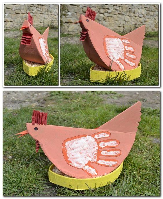 Les poulettes de Pâques