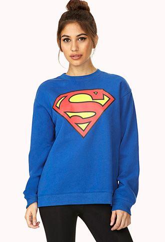 Superman Sweatshirt | FOREVER21 - 2000073651