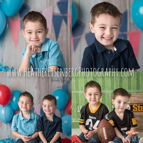Birthday boys photo session!