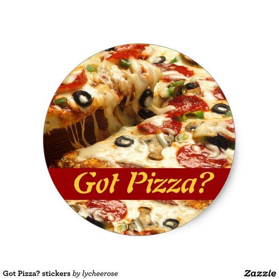 Got Pizza? stickers