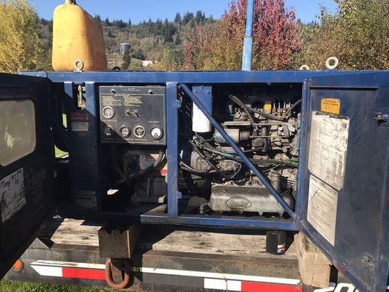 Diesel Generator 30 Kw 240 Single Phase Or 440 3 Phase 3000 Hr With Lots Of Life Comes With Circuit Breakers Plugin Panel And Disconnect Switch I Ran For Sale In Montesano Wa In 2019 Circuit Diesel