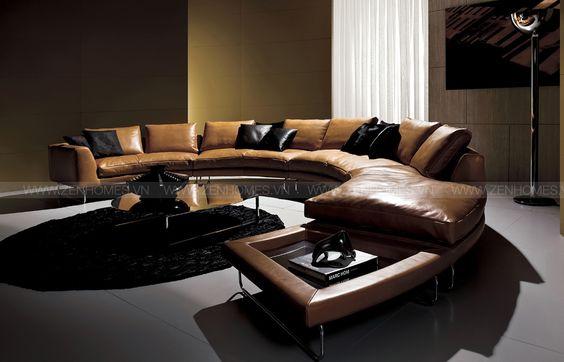 Mua sofa da tphcm với những tông màu sang chảnh