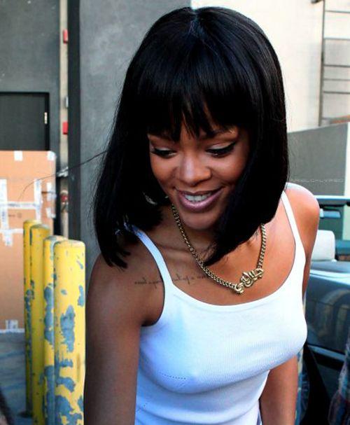 20 Stilvolle Rihanna Bob Haarschnitte Neueste Frisuren Haarschnitt Bob Rihanna Promi Kurze Haare