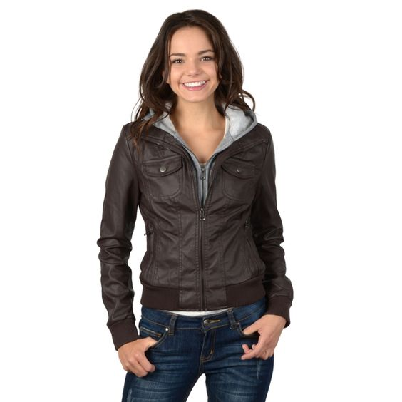 Cropped leather jackets for juniors – Modern fashion jacket photo blog