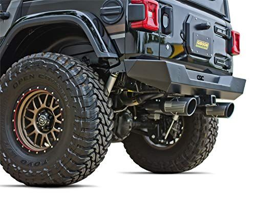 Gibson Cat Back Exhaust System For Jeep Wrangler Jl Black Dog