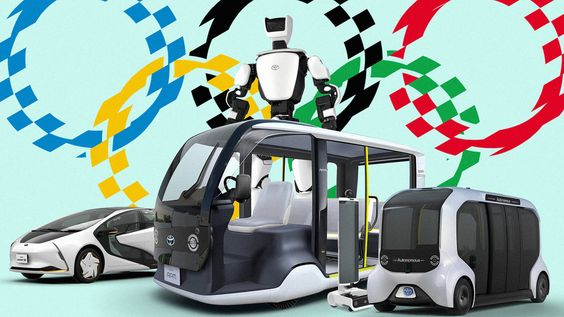 The Most Exciting Thing About The 2020 Games Might Be The Robots Types Of Robots Robot Electric Cars