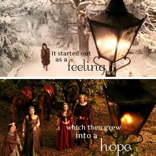 It started out as a feeling, which then grew into a hope.
