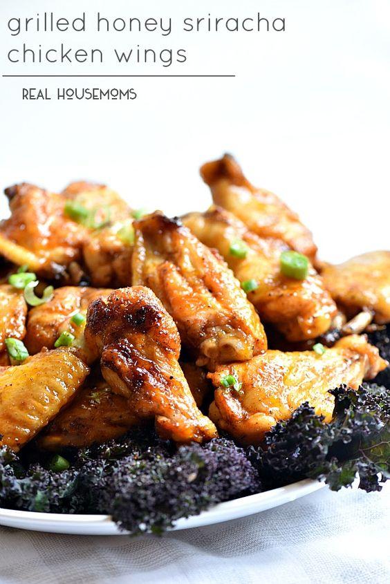 honey sriracha chicken sriracha chicken chicken wings wings honey ...