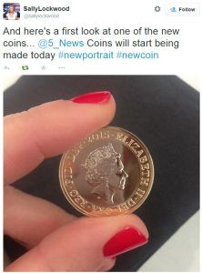 Revealed: The Queen's New Portrait for our Coins... #TheQueen #Coin #ChangeChecker