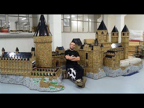 Hogwarts Castle 1 000 000 Bricks Youtube Lego Hogwarts Hogwarts Castle Hogwarts