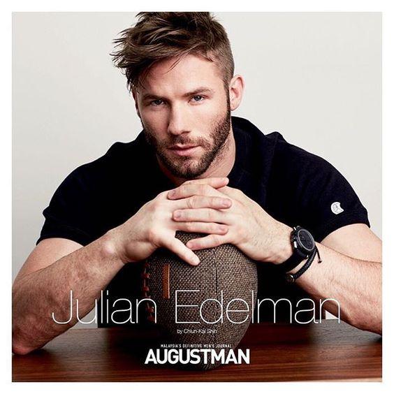 Julian Edelman - Augustman                                                                                                                                                      More