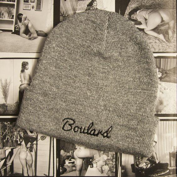 Boulard - Bonnet en acrylique gris http://boulard.bigcartel.com/