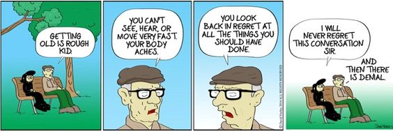 Growing older at Don't Pick the Flowers on GoComics