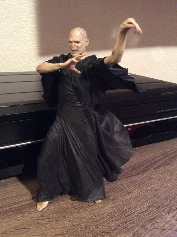"NECA - Harry Potter - Lord Voldemort  - 7"" Scale Figure 2007"
