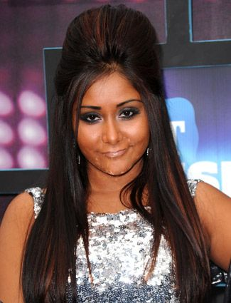 snooki hairstyles : ... snooki poof and more snooki poof big hair jersey trends hair the o