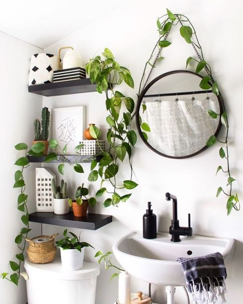 A Dreamy Bathroom Space | Golden Pothos