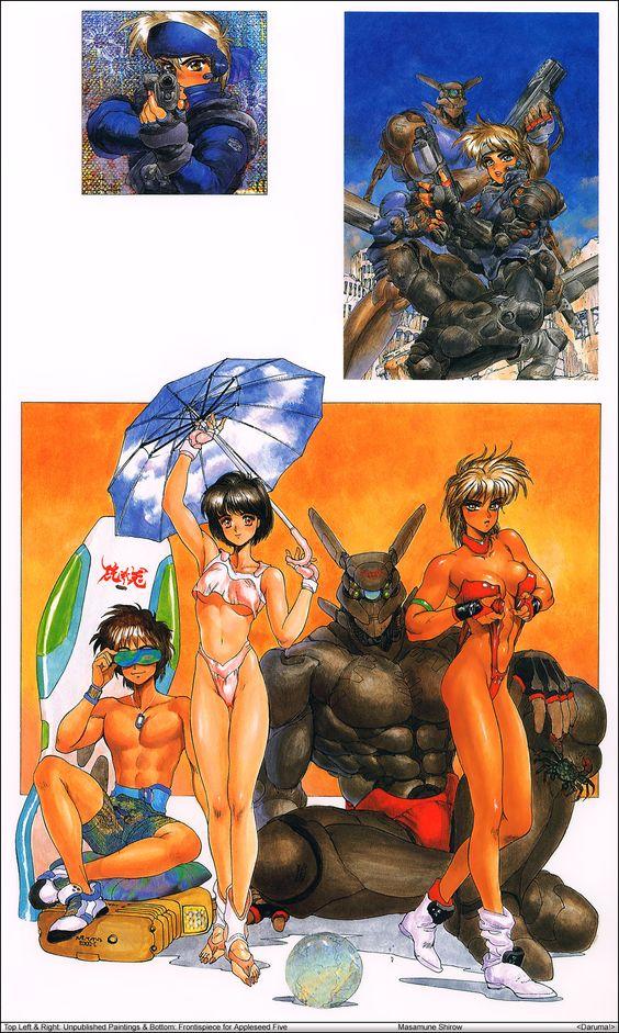 Masamune Shirow Art 27.jpg