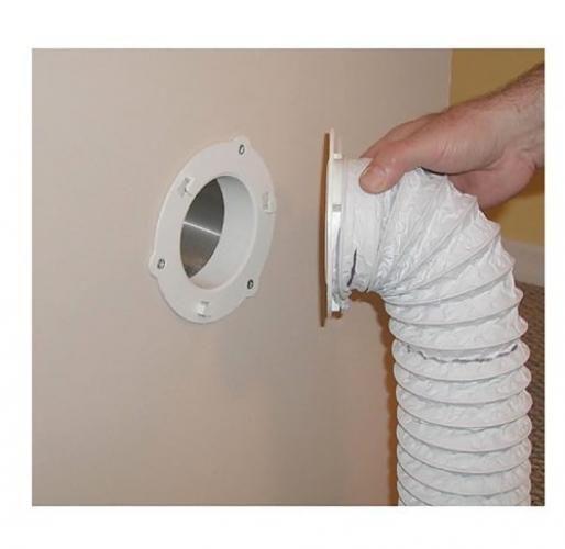 Dryer Dock Dryer Vent 6 For 4 Tubes White Walmart Com Indoor Dryer Vent Dryer Hose Dryer Vent