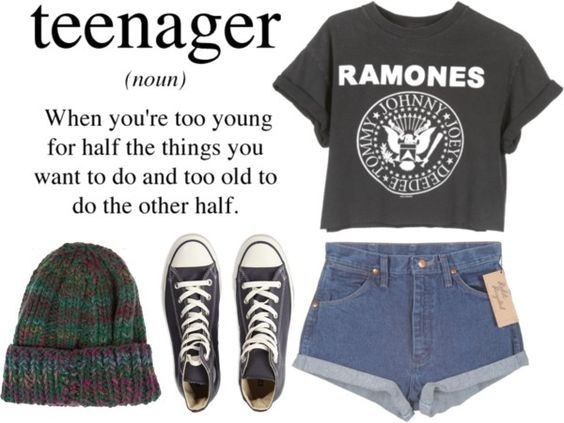 """Just another bored teenager"" by a-kasha ❤ liked on Polyvore"