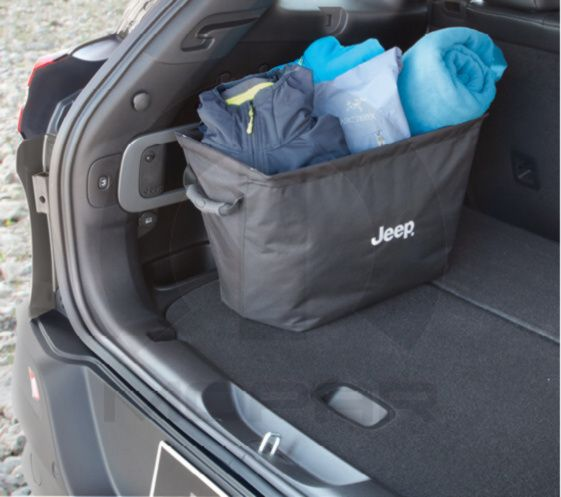 Storage Tote Cargo Management System Mopar 82213732 82213732 Jeep Cherokee Accessories Jeep Cherokee Jeep Grand Cherokee Accessories