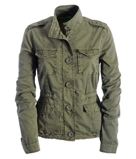 Details about Aeropostale women's army style multi pocket jacket ...