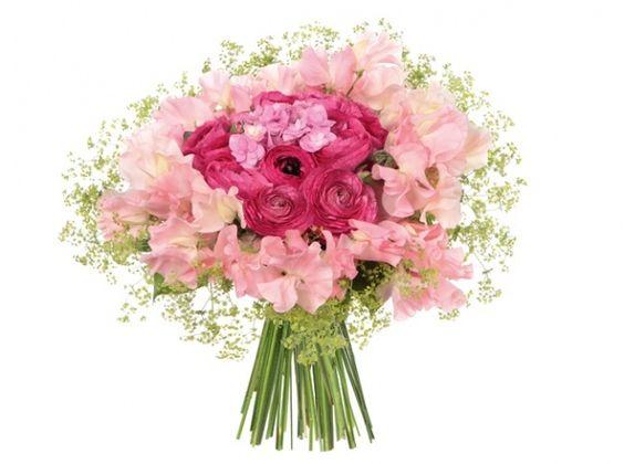 Fleurs mariage bouquet monceau fleurs