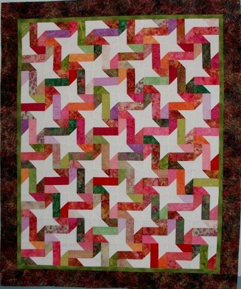 Simple to make, but looks great! Quilt.