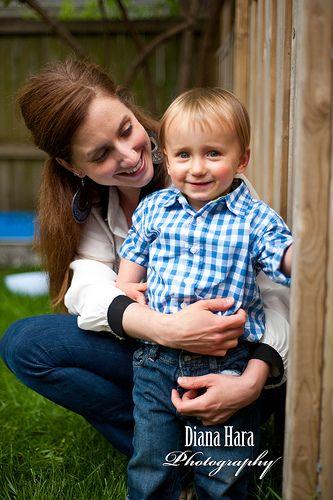 Stacey and her son, Weston