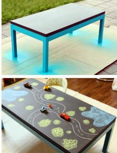 5 id es pas cher pour relooker une table basse 5 relooking for table brico d co pinterest for Peinture table basse