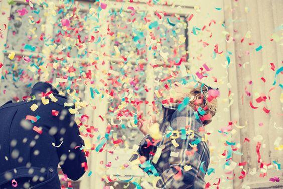 confetti, photo by Giuli & Giordi