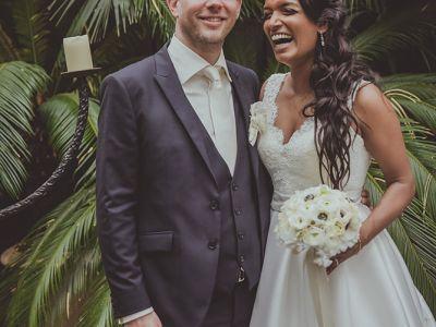 Trilinguale Traumhochzeit in Zürich – Sophie & Stefan heirateten im Giardino Verde