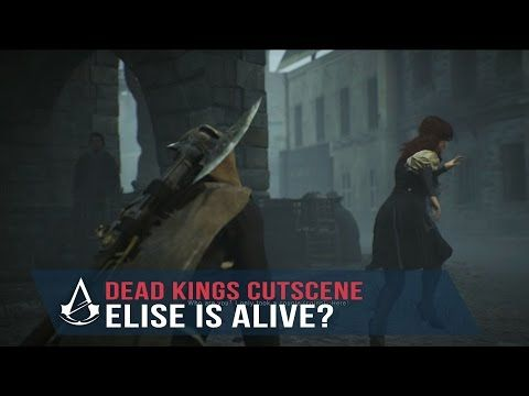 assassins creed unity elise death