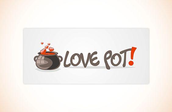 logo love pot