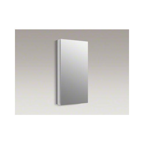 Kohler K-99000 15″ x 30″ Single Door Medicine Cabinet With Self-Close Hinges And,