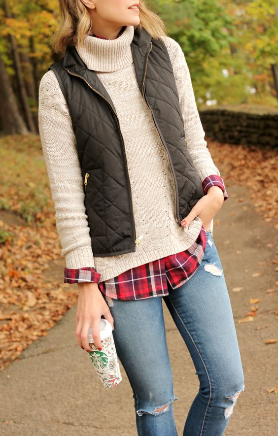 Cozy fall layers #oldnavystyle