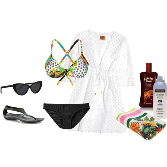 Beach, created by brittney-bouchillon on Polyvore