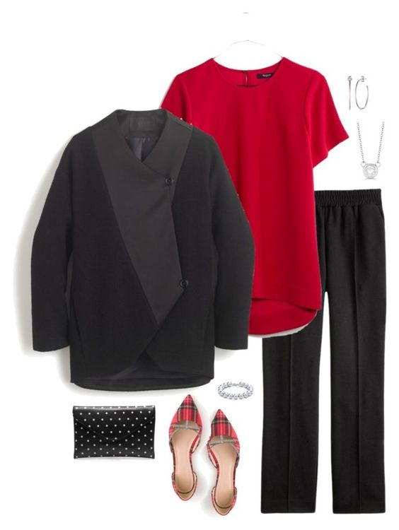 """""""Untitled #3985"""" by shopwithm ❤ liked on Polyvore featuring J.Crew, Madewell, Argento Vivo, Allurez and Tiffany & Co."""