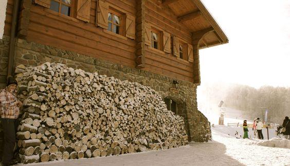 Hóhatár Hütte - szívmelengető forró italok...